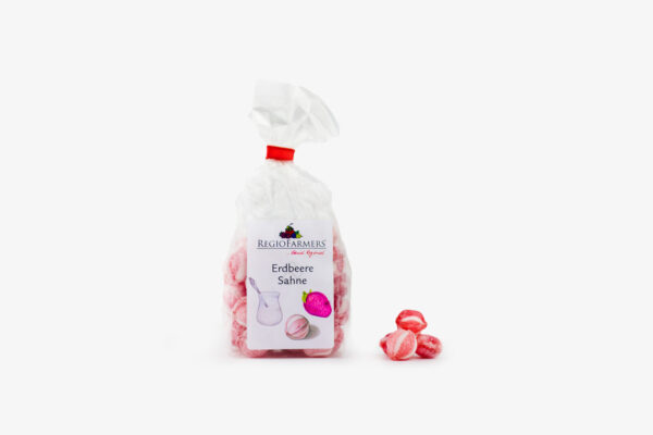 Bonbon-Erdbeer-Sahne